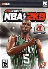 NBA 2K9 PC DVD-ROM 2008 Devin Garnett Celtics #5
