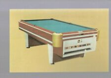 MR052:The Fleetwood Coin Operated Pool Table Advertising Card