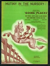 Mutiny In The Nursery 1938 Going Places Dick Powell Louis Armstrong Sheet Music