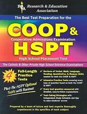 The Best Test Preparation for the Catholic High School Entrance Exams (COOP & HS