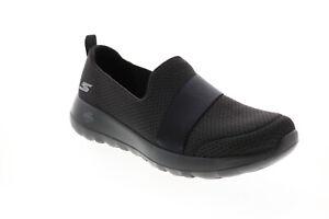 Skechers Go Walk Joy Dream Lights 124093 Womens Black Athletic Walking Shoes