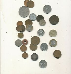 K11 LOT OF OLD FOREIGN COINS ESTATE SALE