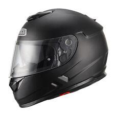 Casco moto integral Nzi Symbio negro mate con doble visera L