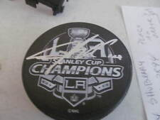Tyler Toffoli Los Angeles Kings Signed Stanley Cup Champions Puck COA
