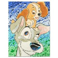 "DAVID WILLARDSON Lady and the Tramp  ""Hair of the Dog""  Disney LE SN 396/495"