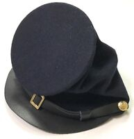 CIVIL WAR US UNION BLUE WOOL ENLISTED KEPI FORAGE CAP HAT-XLARGE