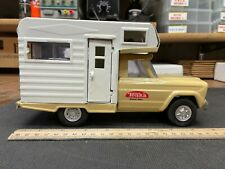 New ListingVintage 1960s Tonka Jeep Pick Up Truck Rv Camper Old Pressed Steel Toy Vehicle
