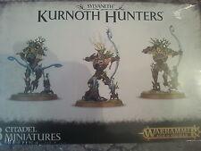 Warhammer Age Of Sigmar Sylvaneth Kurnoth Hunters / Scythe - New & Sealed