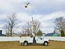 '99 Ford F450 Telsta 42' Bucket Boom Truck Service Utility Under Cdl! V10 W/Onan