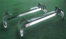 Six Vintage Art Deco Lucite Perspex Knife Rests for Easter or FestiveTable