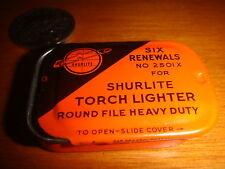 Vintage 1970's Tiny 2-piece SHURLITE® Metal Box Container, Nice Used