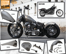Lucky Sucker Twin Cam Softail Fuel Injected Gas Tank Kit w/Adapter 641905/641906