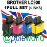 1 Komplette Set (4 Tinten) Nicht-Oem Tinte Kartuschen Alternativen Für Brotheof