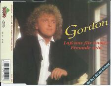 GORDON - Lass uns fur immer freunde sein CD SINGLE 2TR GERMANY 1992 RARE!!