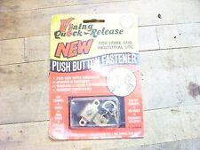 vining quick release push button fastener key holder tiedown harness window door