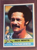 1976 Topps Roy White #225 Yankees NM+