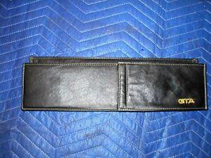 1982 - 92  FIREBIRD TRANS AM GTA BLACK DASH MAP POCKET POUCH GLOVE ORIGINAL KITT