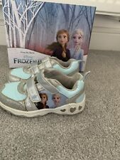GIRLS FROZEN TRAINERS Light-up SIZE C9 Infant Girl