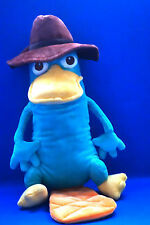 Disney Theme Parks Edition Phineas Ferb Perry the Platypus Agent Plush   c5