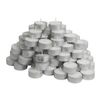 IKEA Glimma Pack Of 15 Tea Lights Candles - 38mm Wide (4 Hours Burning Time)