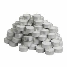 IKEA Glimma Pack of 54 Tea Lights Candles - 38mm Wide (4 Hours Burning Time)