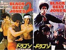 Black Belt Jones karate movies 2 Dvd Set Jim Kelly (Enter the Dragon star)