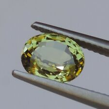 2.69CT New green sapphire natural oval quality color gemstones heated 100%