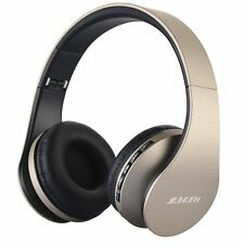 Wireless Headset Over Ear Foldable Bluetooth Headphone With Built in Microphone