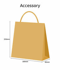 More details for brown paper bags twist handle party and gift carrier / paper bags with handles