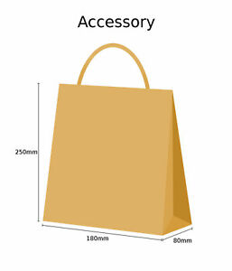 Brown Paper Bags Twist Handle Party and Gift Carrier / Paper Bags With Handles