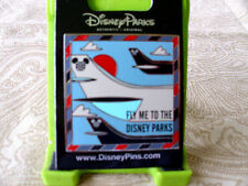 Disney * FLY ME TO THE DISNEY PARKS * New Travel Mickey Ears Icons Trading Pin