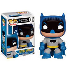 FUNKO POP ! BATMAN RETRO SUPER HEROES FIGURA VINYL LIMITED EXCLUSIVE # 01 NUEVO