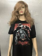 BATMAN The Dark Knight Rises BANE Black T-Shirt Large Jerzees 100% Cotton