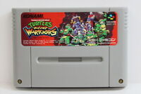 TMNT Ninja Turtles Mutant Warriors SFC Super Famicom SNES Japan Import I5710 B