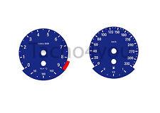 BMW Tachoscheiben für 3er E90 & 5er E60 Benziner 330 kmh km/h M3 M5 5003 Blau