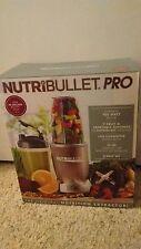 NIB NutriBullet Pro 9-Piece 900-Watt Nutrition Extractor Blender NB9-0901