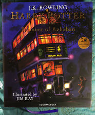 1st Print/1 Ed. Edition Bloomsbury UK Harry Potter&Prisoner Azkaban Illustrated