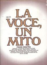 FRANK SINATRA la voce un mito  Vol 3  ITALY  EX LP