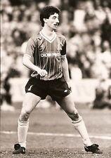 ORIGINALE stampa foto Liverpool FC Ian Rush 31.3.1984