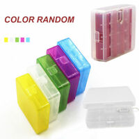 Colorful Hard Plastic Case Holder Storage Box Cover For 18650 Batteries Hot Sale