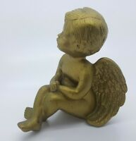 "Cherub Figurine 5.5"" T - 4.5"" W - Decorative Angle Table Decor Center Piece"