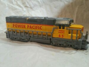 ~~VERY VERY RARE~~ POWER  PACIFIC  SCALE LOCOMOTIVE ENGINE  TOY TRAIN