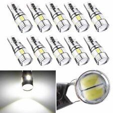 10x New T10 5630 6 SMD LED Canbus Error Free Car Wedge Light Lamp Bulb White