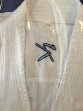 Karate Suit 185cm New White Kumite Uniform W K F Approved Gi Kihon Ippon Lite