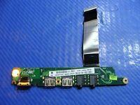 "Lenovo IdeaPad S10-3 10.1"" USB Audio Ethernet Port Board w/Cable DA0FL5PI6D1 ER*"