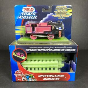 Thomas & Friends Track Master Hyper Glow Ashima Motorized Railway Engine NEW