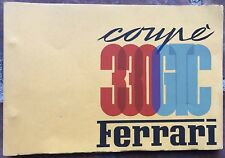 FERRARI 330 GTC  Spare Parts Manual 1966