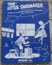 The Little Shoemaker (Le Petit Cordonnier) Sheet Music 1953
