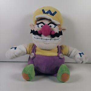 Super Mario Bros Wario Plush/Teddy 12 Inch