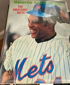 WILLIE MAYS / THE AMAYSING METS MAY 22 1972 SPORTS ILLUSTRATED BASEBALL Magazine